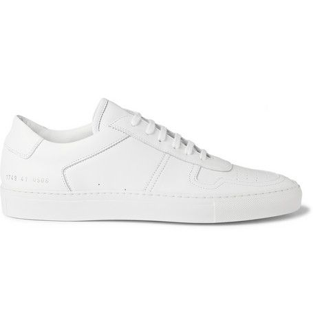 a25420db3885 Common Projects BBall Low Leather Sneakers