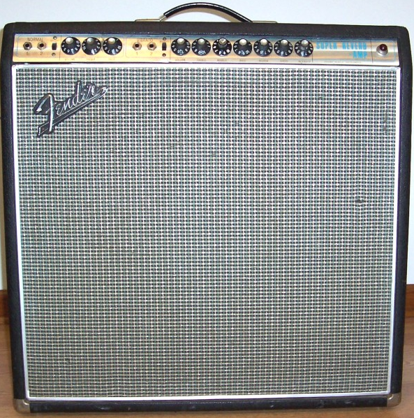 My Go To 1968 Fender Super Reverb Amp With Four 10 Inch Speakers