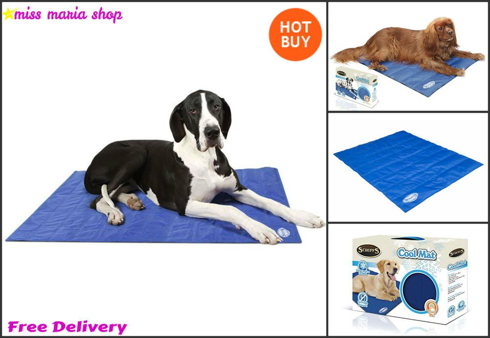 Dogs Self Cooling Mat Bed Pets Hot Relief Carrier Summer 3 Sizes