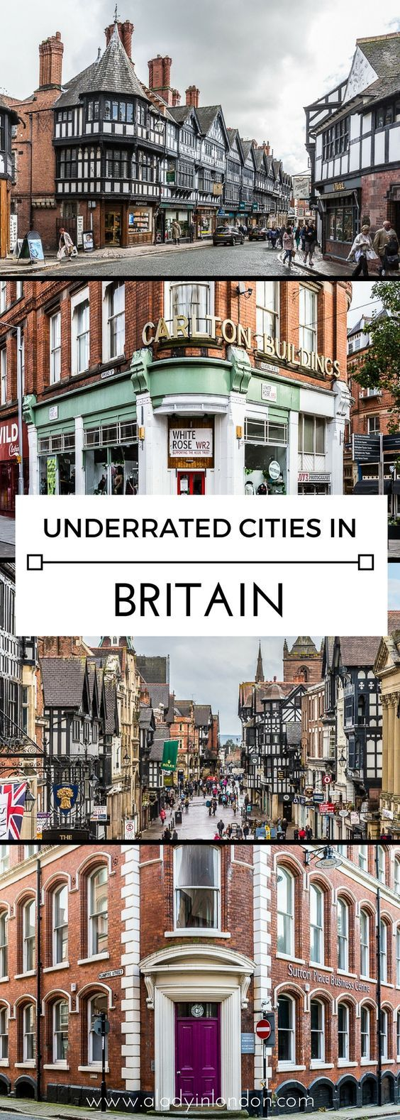 9 Underrated Cities You Have to Visit in Britain - These are Worth a Trip #travelengland