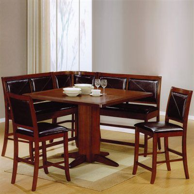Coaster Fine Furniture Lancaster Counter Height Dining Set