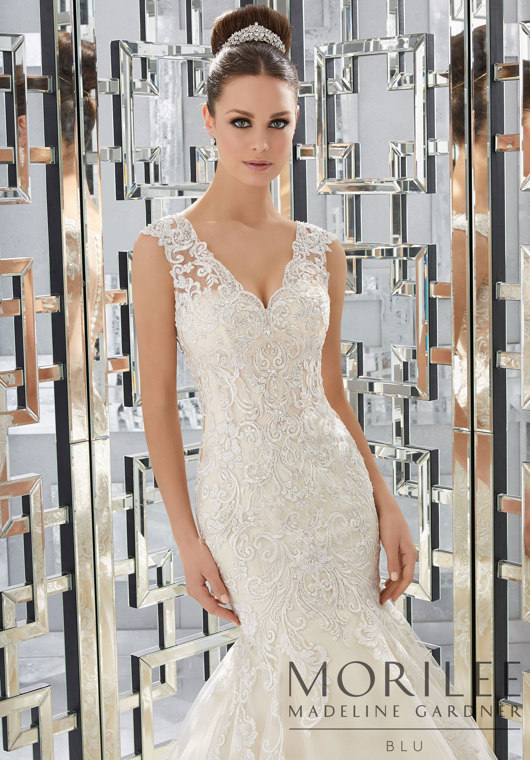 Morilee | Madeline Gardner, Monika Wedding Dress. This Glamorous ...