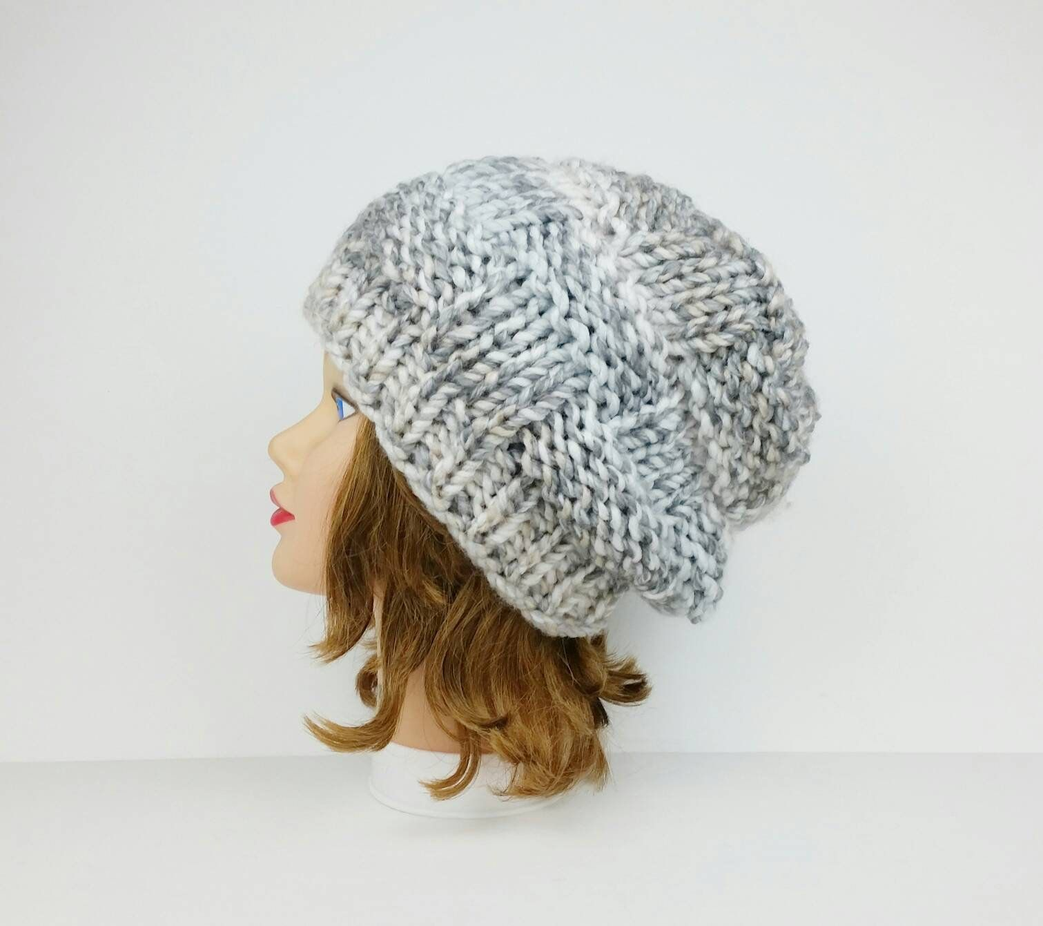 7be4f21f352 Chunky Knit Hat For Women