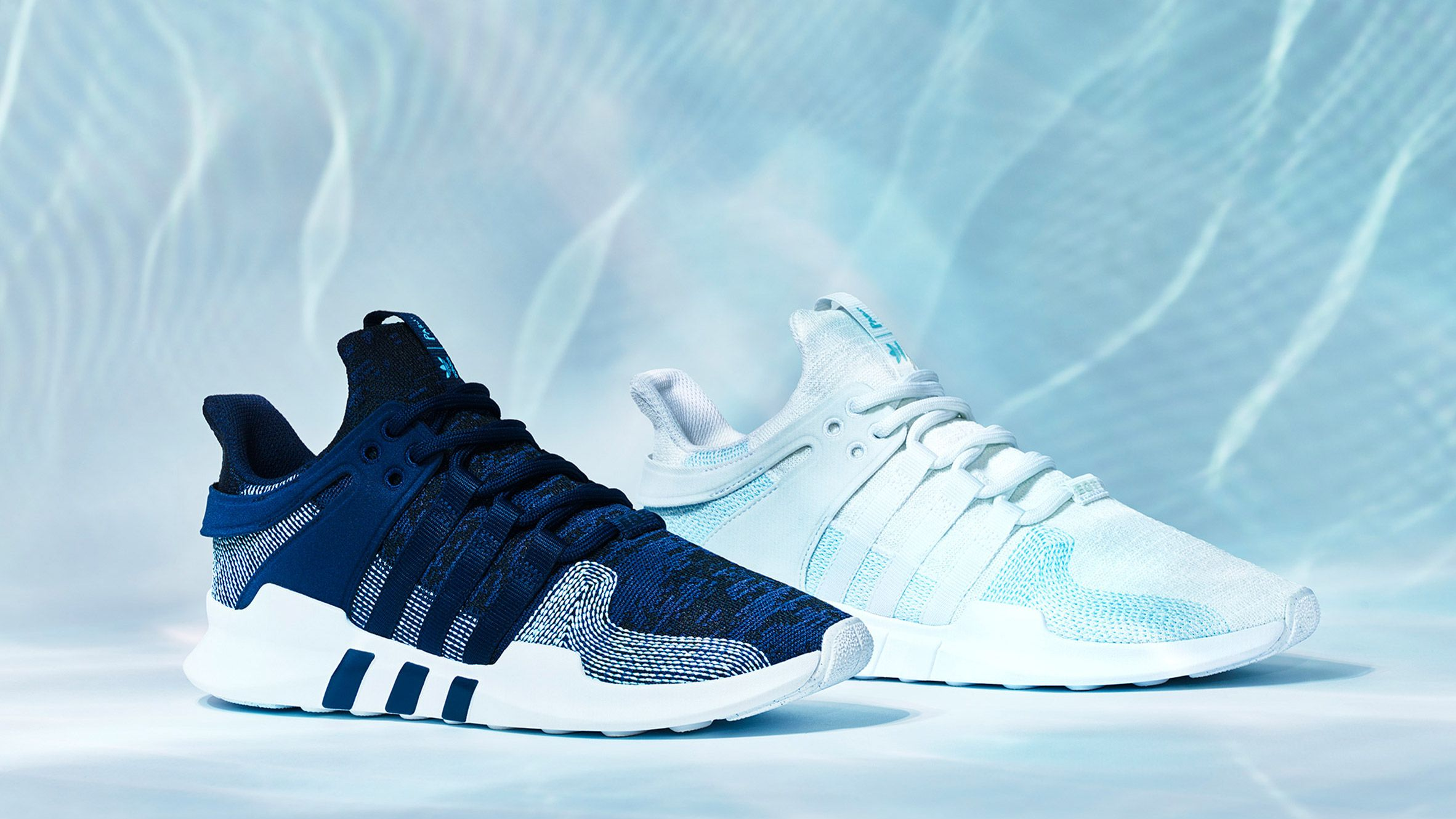 Adidas uses Parley ocean plastic to update one of its