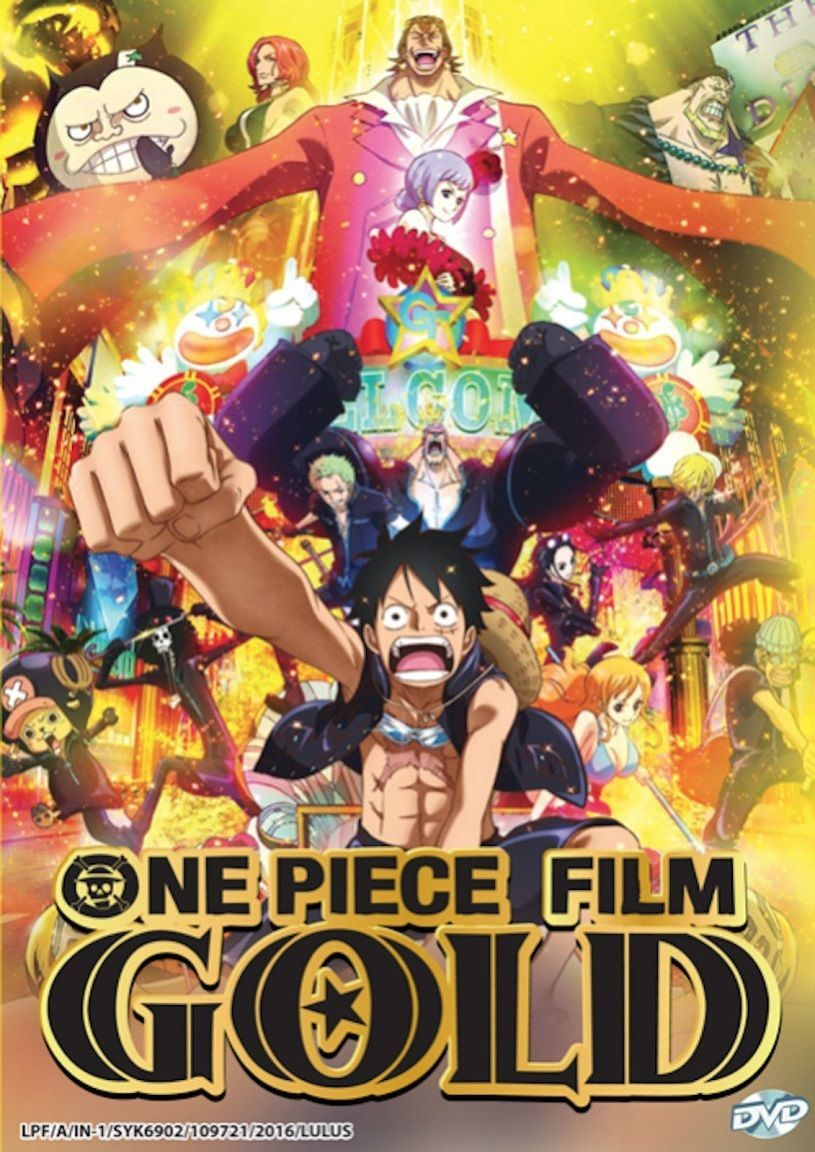 Details About Dvd Anime One Piece Film Gold The Movie English