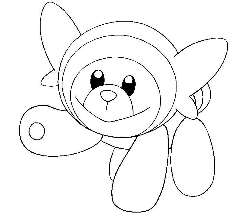 Stufful | pokemons para dibujar | Pinterest | Para dibujar, Colorear ...