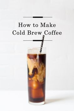 How to make Cold Brew /