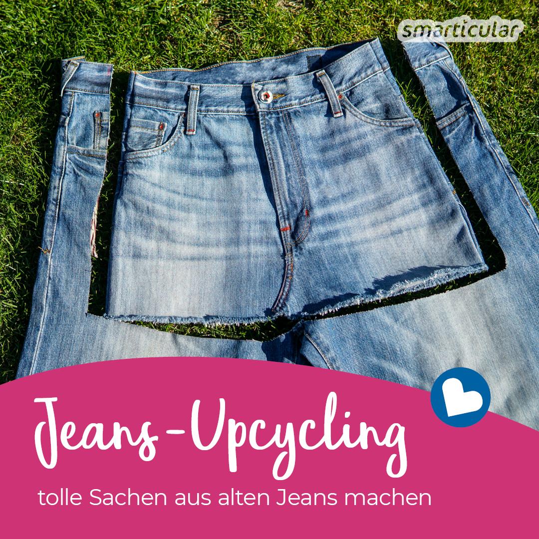 Kaputte Jeans nicht wegwerfen - das alles kannst du daraus machen!