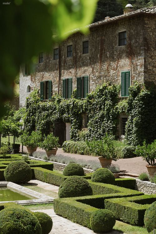 Formal Garden Design. Pinned to Garden Design by Darin Bradbury.