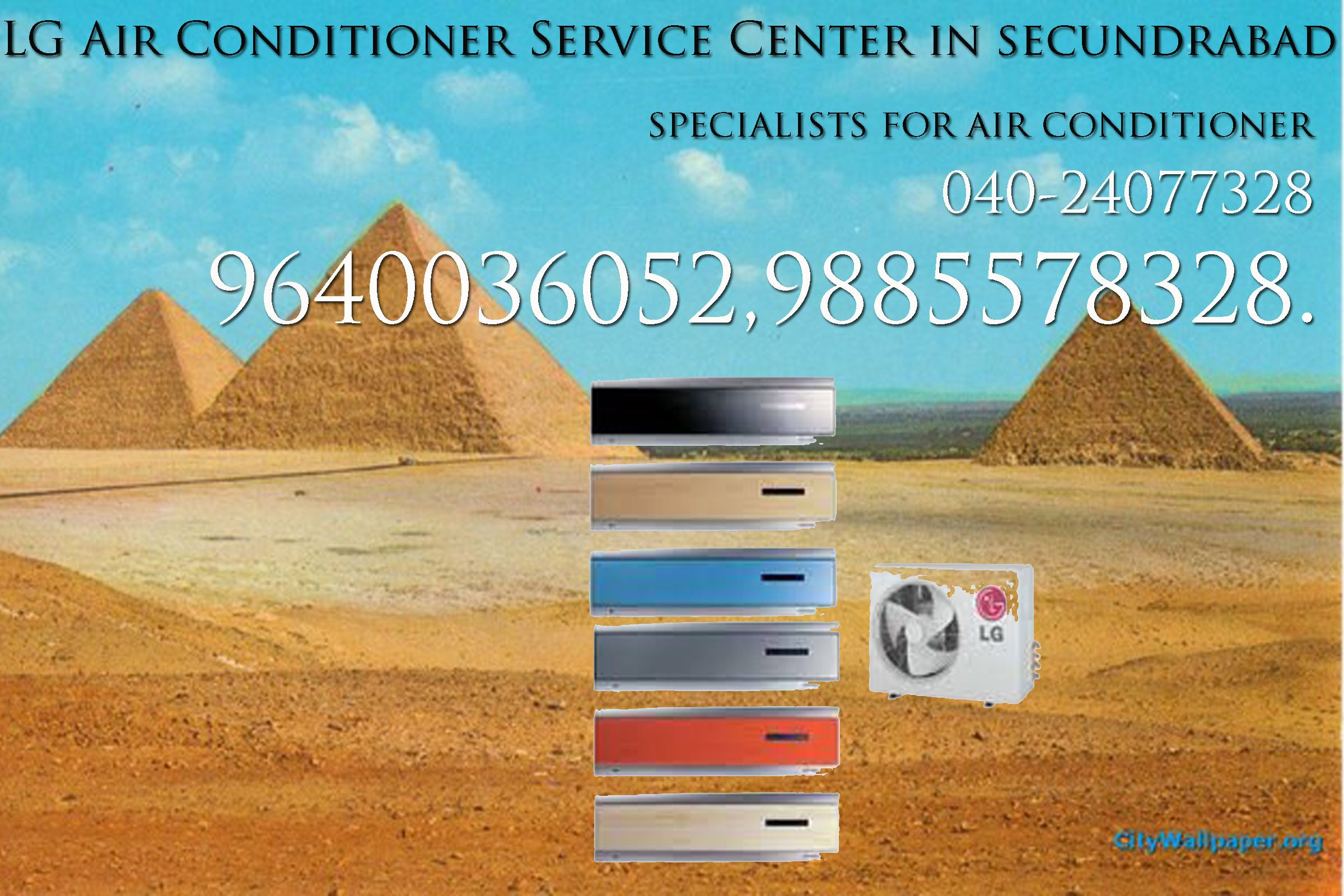 LG Air Conditioner Service Center in Hyderabad 9441242380