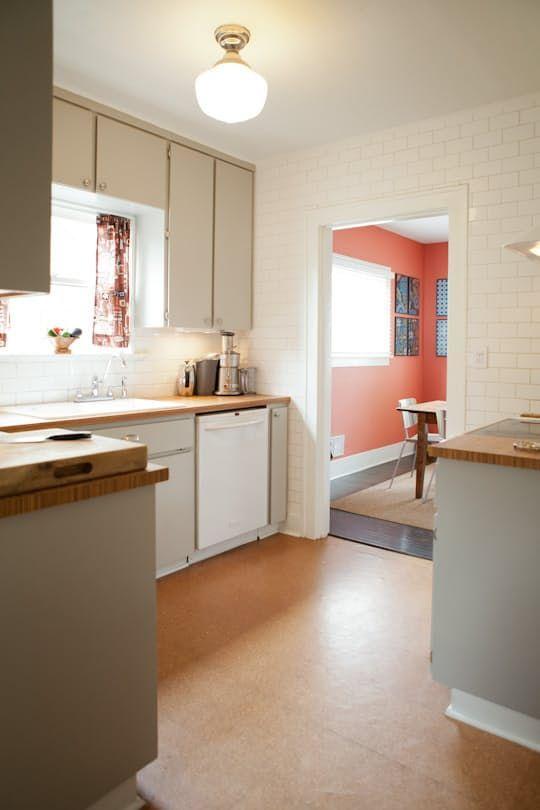 All About Cork Flooring  Cork Flooring Kitchen Kitchens And House Captivating Kitchen Floor Designs 2018