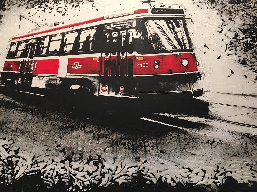 """""""Dundas via Dundas"""" capturing a local sight of #Toronto living by #artist #denisebuismanpilger #Toronto #art #event @artistprojectto #artistproject by idstoronto"""
