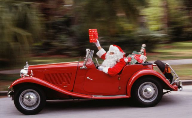 Noel Automobile automobile #voiture #noel #perenoel #quartierdesjantes   Pere noel