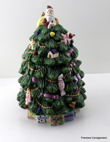 Spode Christmas Tree Cookie Jar In Original Box Ebay Spode Christmas Tree Christmas Cookie Jars Spode Christmas
