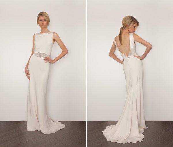 San Go Style Weddings Fashion Friday Deep V Back Gowns