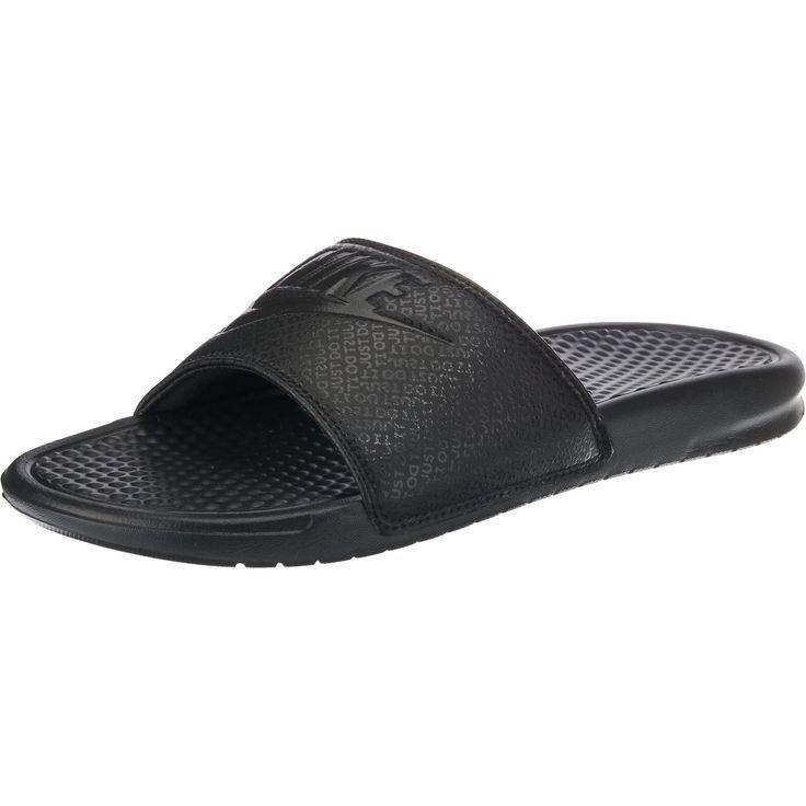 cheap for discount 4674b b46b0 Nike Benassi JDI Slide Sandles Black Rose Gold size 9 Women s in 2019    Shoes   Nike women, Nike benassi, Nike slides