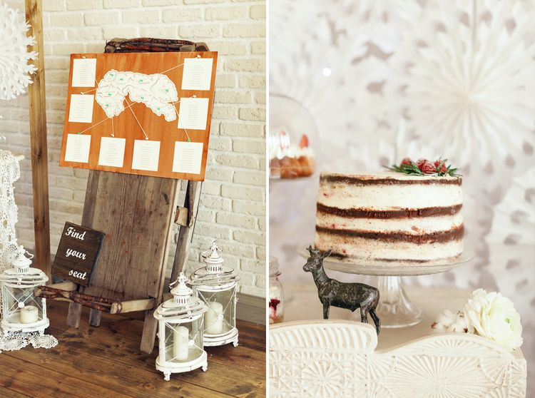 Seating Plan | Wedding Desserts for a Magical Narnia wedding theme | Fab mood #winterwedding #wintertale