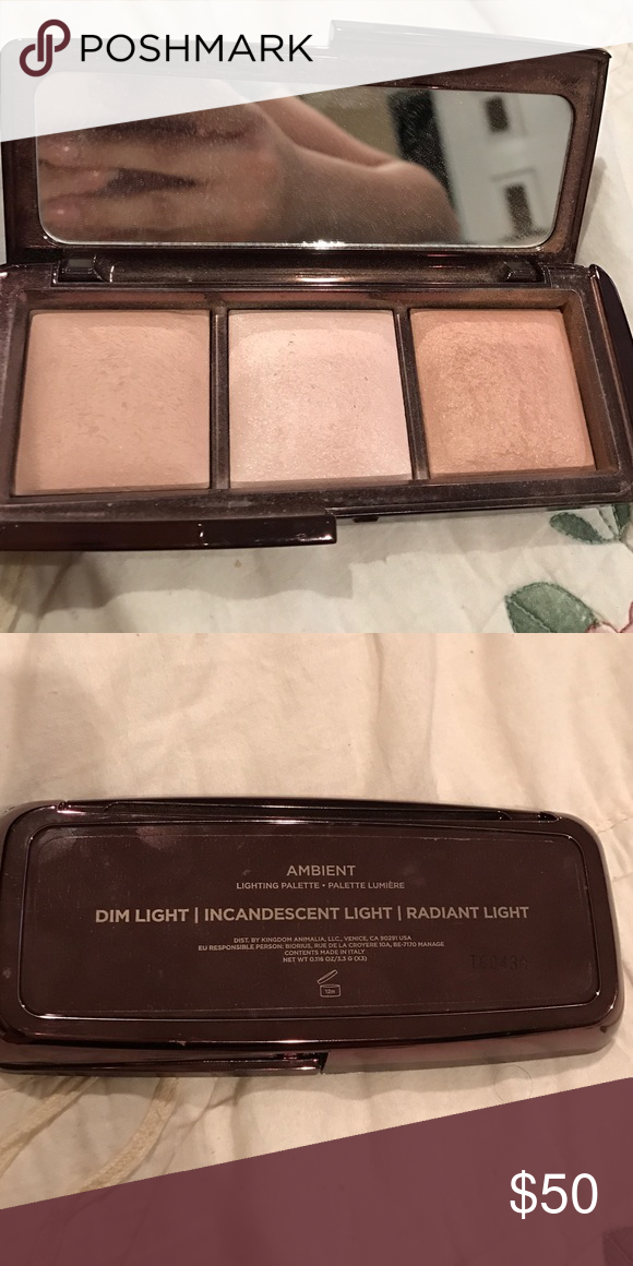 Hourglass ambient lighting palette Hourglass ambient lighting use one time no box authentic Makeup Luminizer