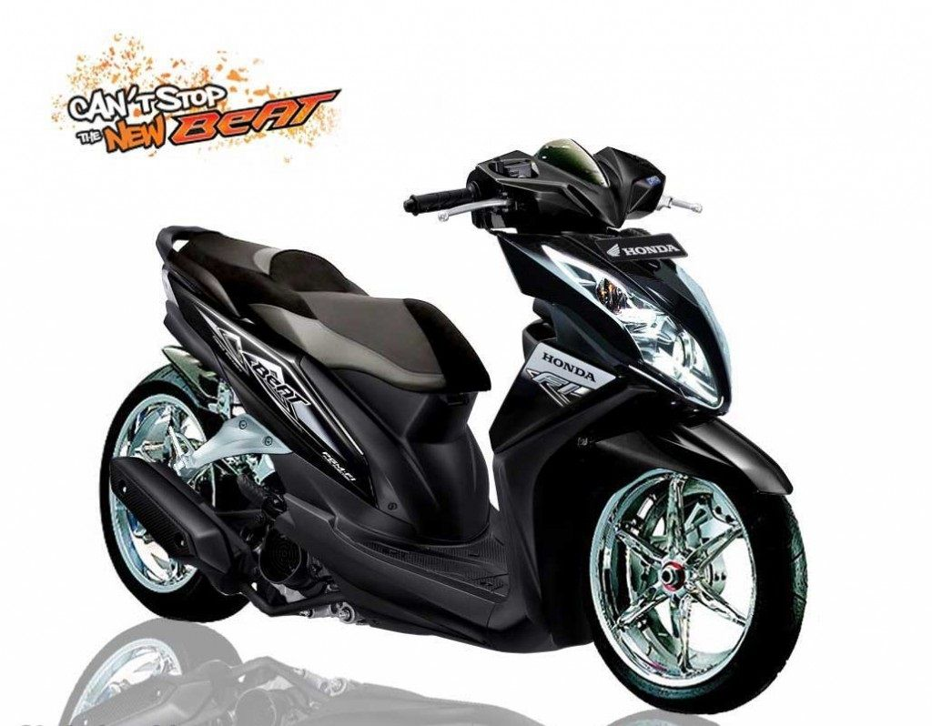Modifikasi Motor Honda Beat FI POP ESP Dan Honda Beat ESP Terbau