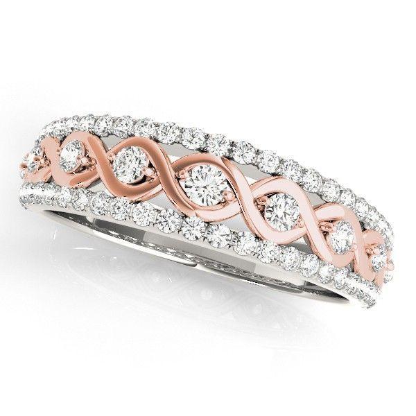 It's A Custom Ordered Multirow Two Tone Infinity Diamond