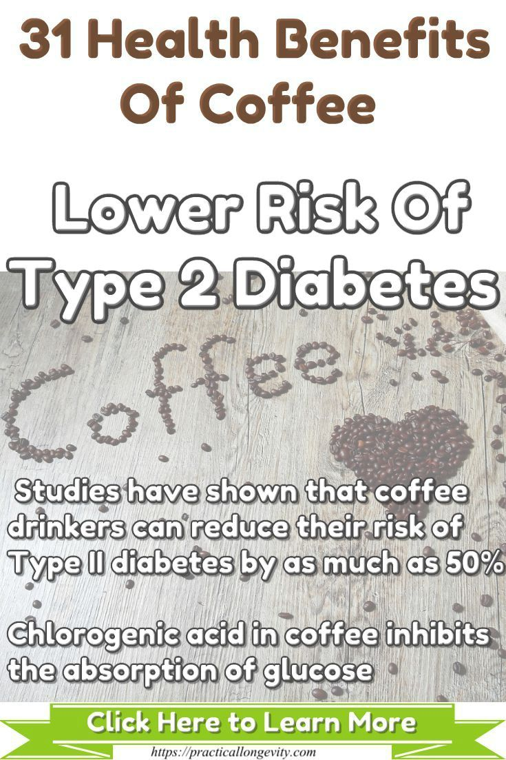 What can reduce the risk of developing type 2 diabetes