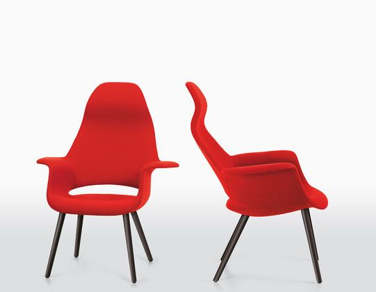 Organic Chair by Charles Eames and Eero Saarinen in 1940 Charles