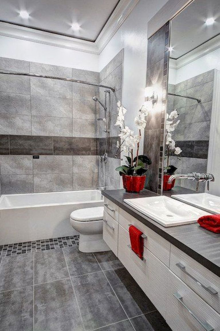 70 Suprising Small Bathroom Design Ideas And Decor (36 ...