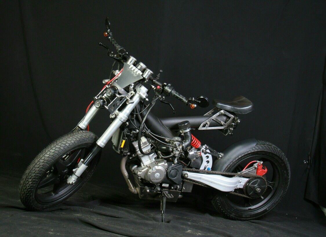 Pin oleh Robson RS di Madass custom 125 Honda Sepeda