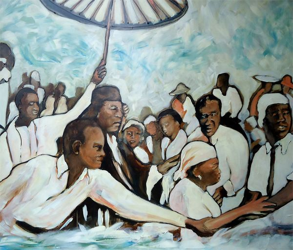 Baptism By Connie Kittok Ponchatoula La Louisiana Art Art Painting
