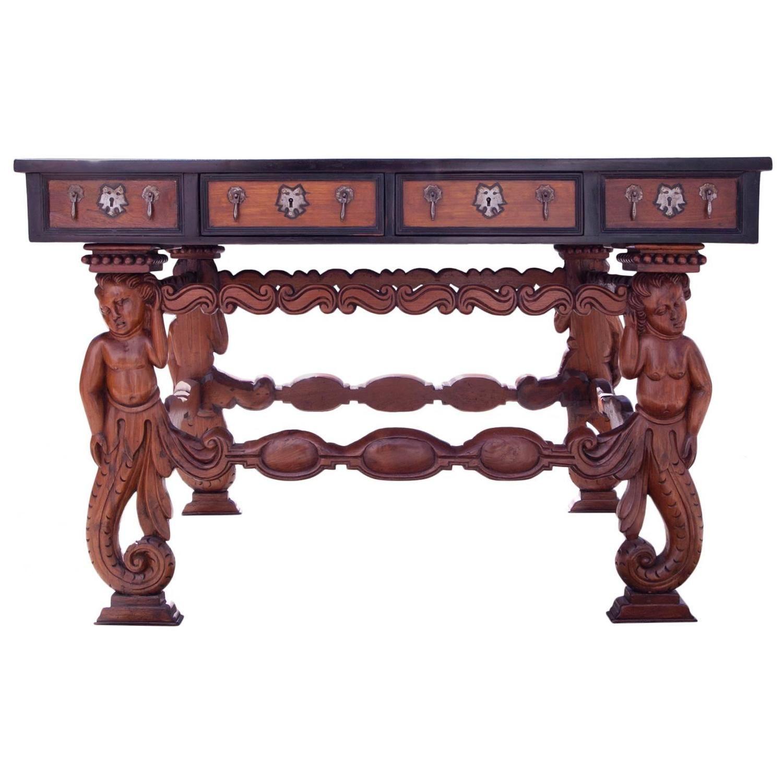 17th Century Indo Portuguese Hall Table Antig Edades Nuevas Y Mundo # Muebles Potugueses