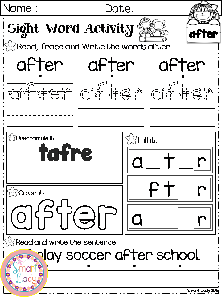Sight word activity first grade sight words pinterest sight word activity first grade inside you will find 41 sight word worksheets first grade pages ibookread PDF