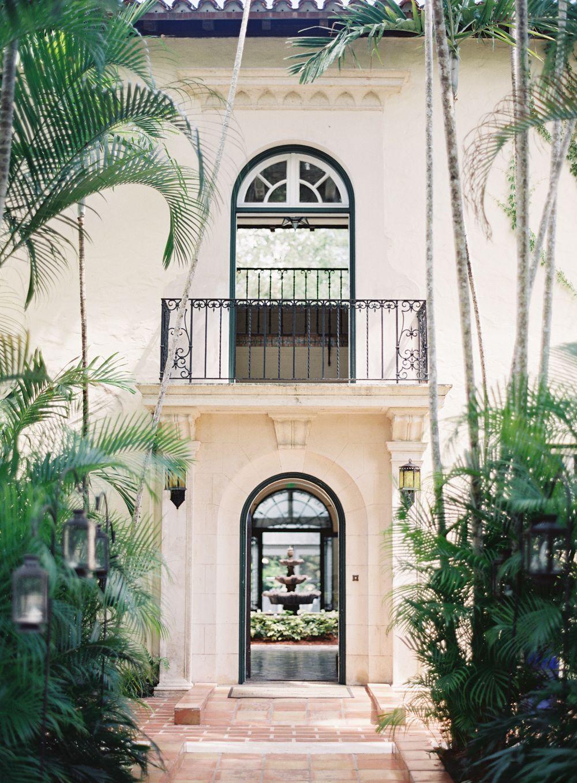 Classic Glamorous Miami Wedding At Villa Woodbine Rooms