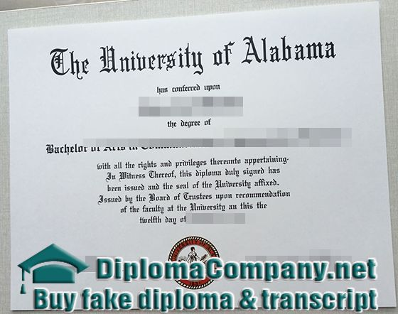 buy your Alabama degrees, get a fake Alabama diploma certificate