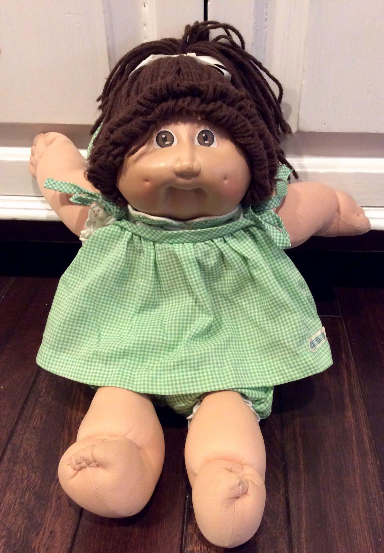 1985 Cabbage Patch Kids Coleco Girl Doll Vintage Cabbage Cabbage Patch Kids Cabbage Patch Kids Dolls Girl Dolls