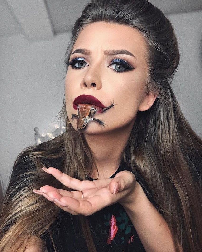 Impressive, subtle special effects by makeup artist Monika
