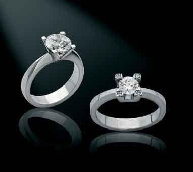 Sencillos y elegantes anillos de compromiso anillos de compromiso pinterest ring cake - Anillos de compromiso sencillos ...