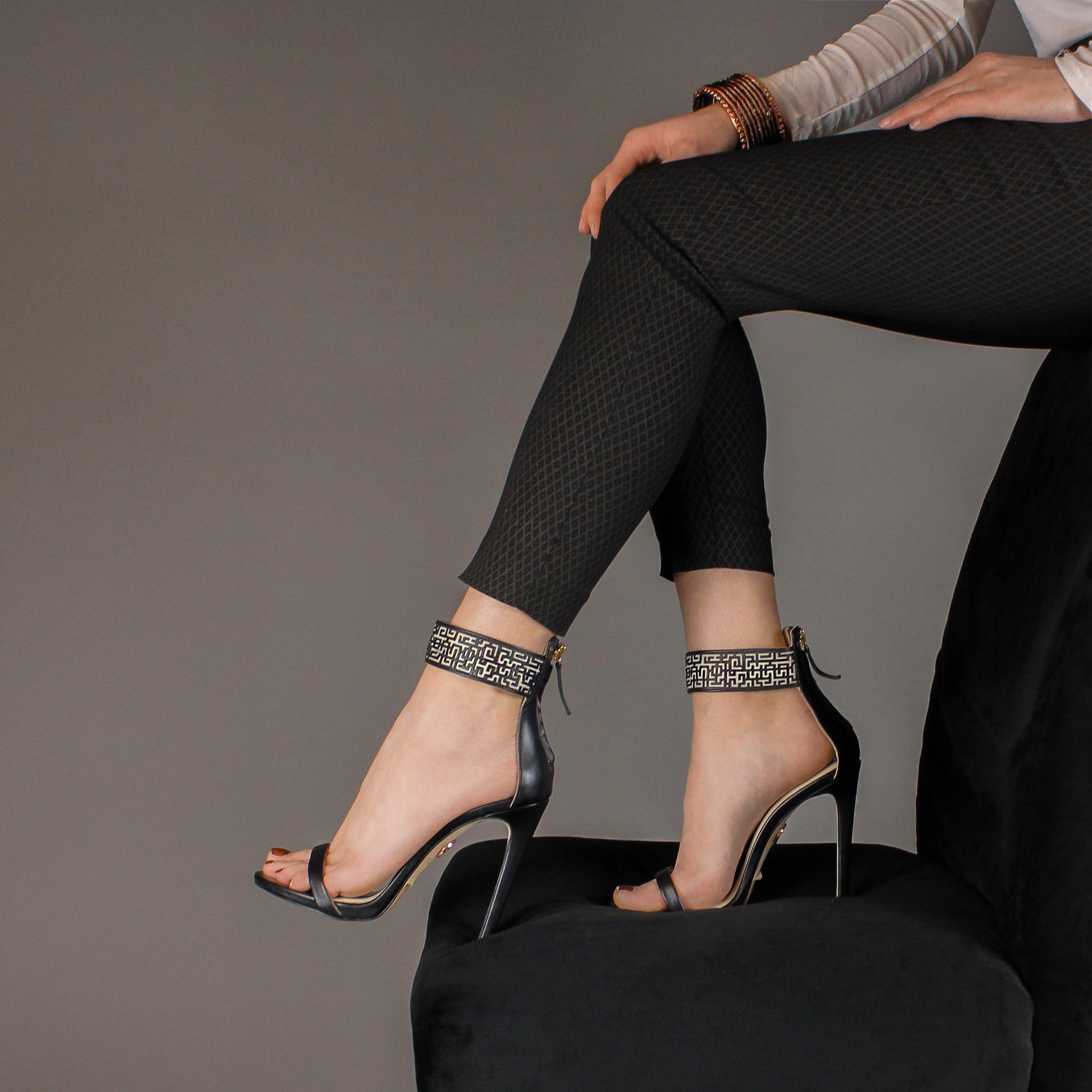 Xeneta Stiletto Sandals - Haany Bano