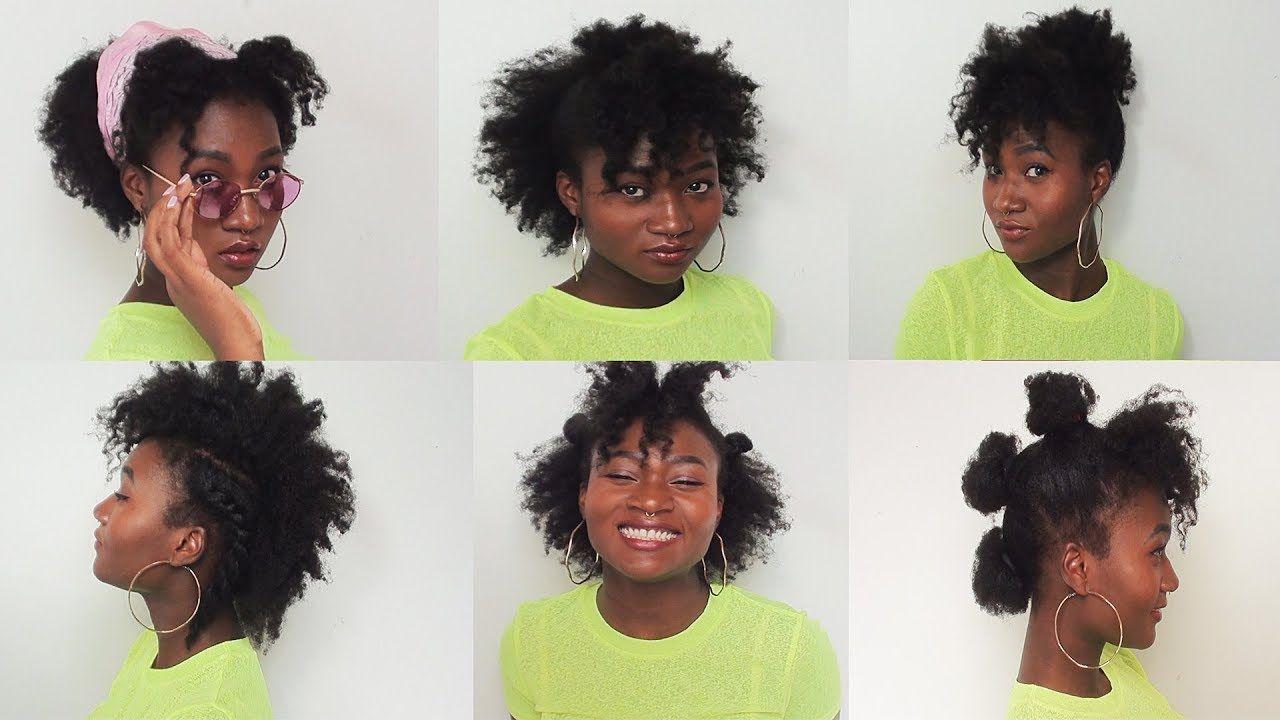 Un look impactante con peinados para pelo afro Imagen De Cortes De Pelo Tendencias - PEINADOS FÁCILES PARA CABELLO AFRO ♥ - Yudis   Peinados ...