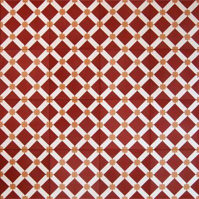 Madrona Collection Encaustic Concrete Tile In Bursa Pattern