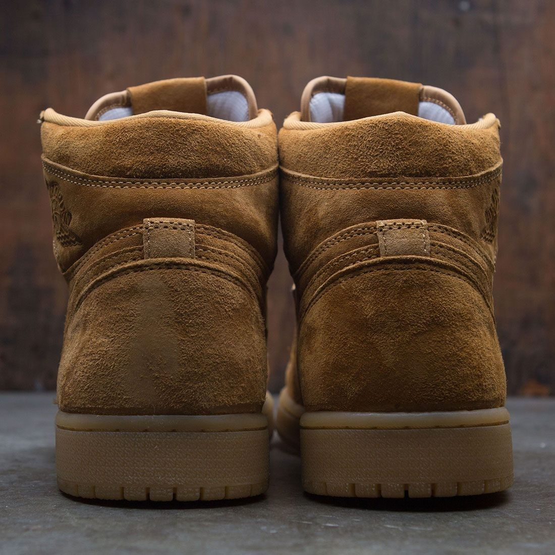 Air Jordan 1 Retro High Og Men Tan Golden Harvest Gum Yellow