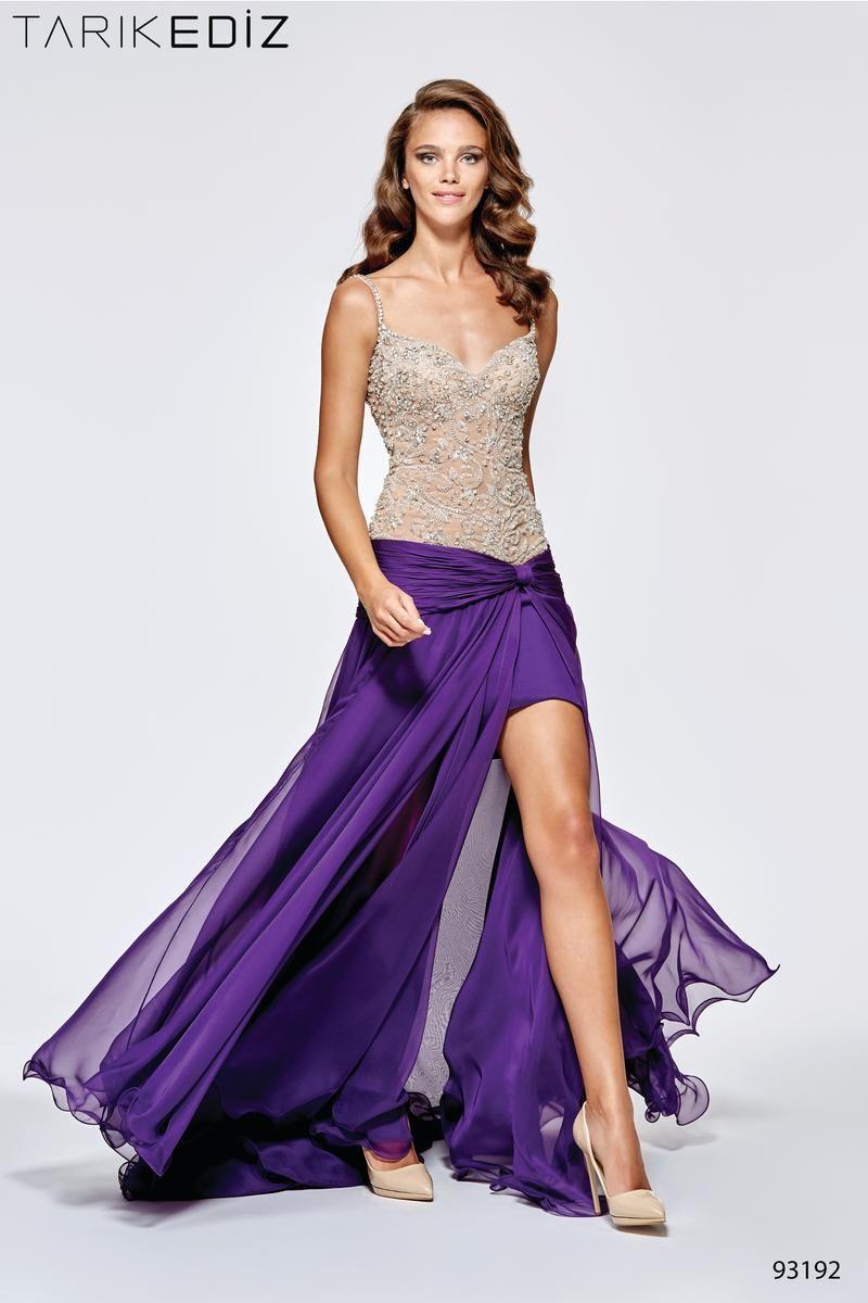 Tarik Ediz 93192 Glitterati Style Prom Dress Superstore L Largest Collection Of Designer Prom Dresses In Ma Nh Evening Dresses Purple Evening Gowns Spaghetti Strap Prom Dress [ 1200 x 800 Pixel ]