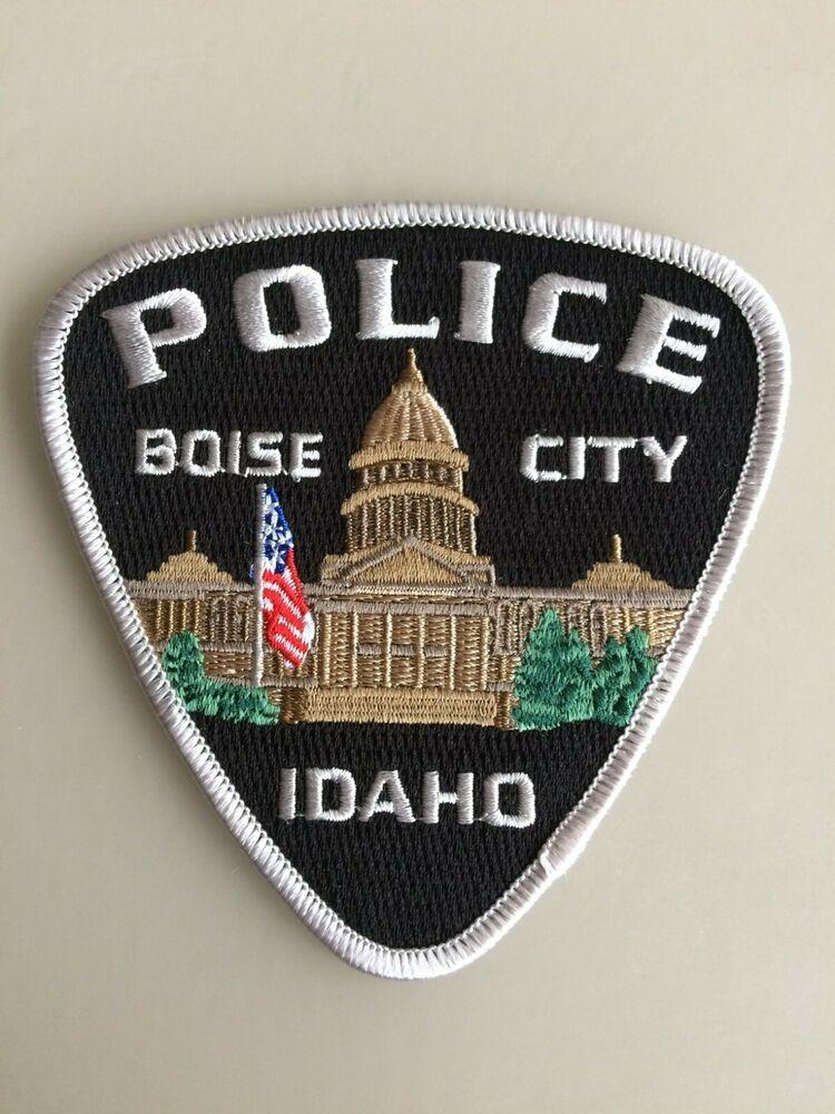 Genuine Patch Boise City Police Department Usa Idaho Shoulder Flash New Original Boise City Police Department Police