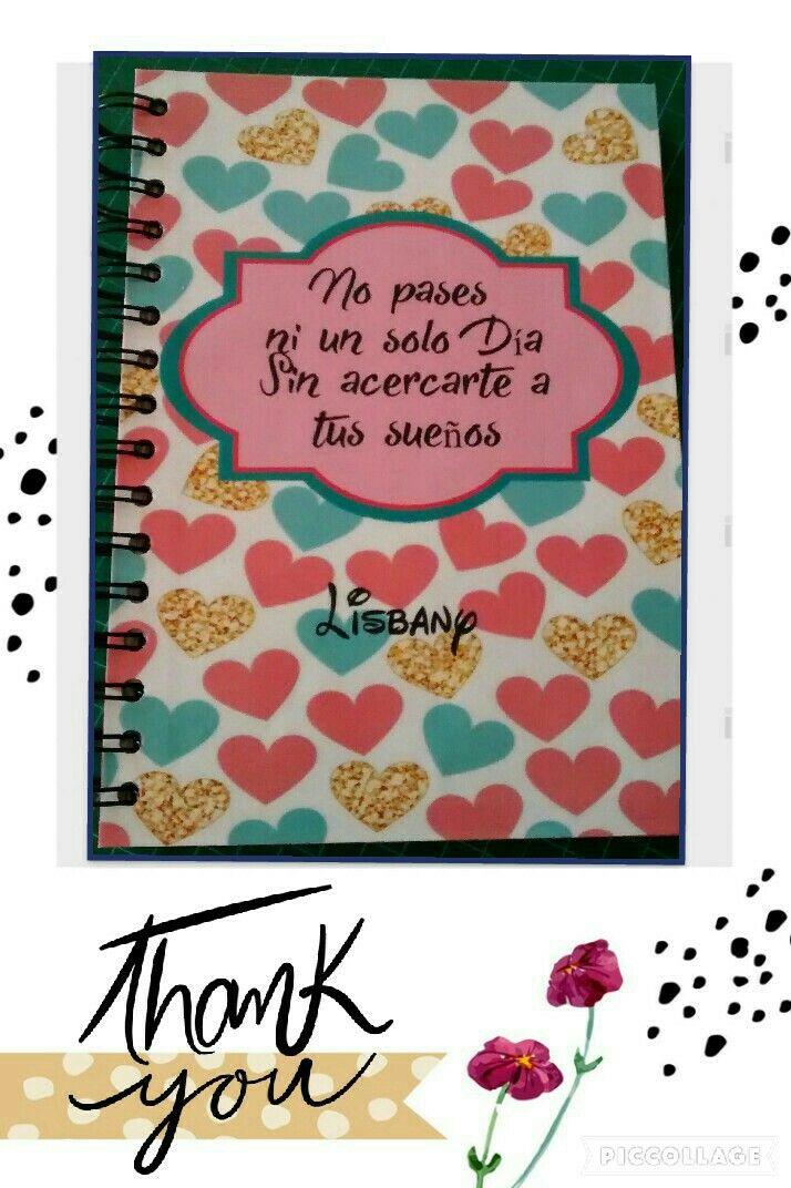 Libreta artesanal. Handmade by Lada. @arteslada
