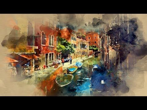 This Photoshop Tutorial Covers How To Create A Watercolor Effect