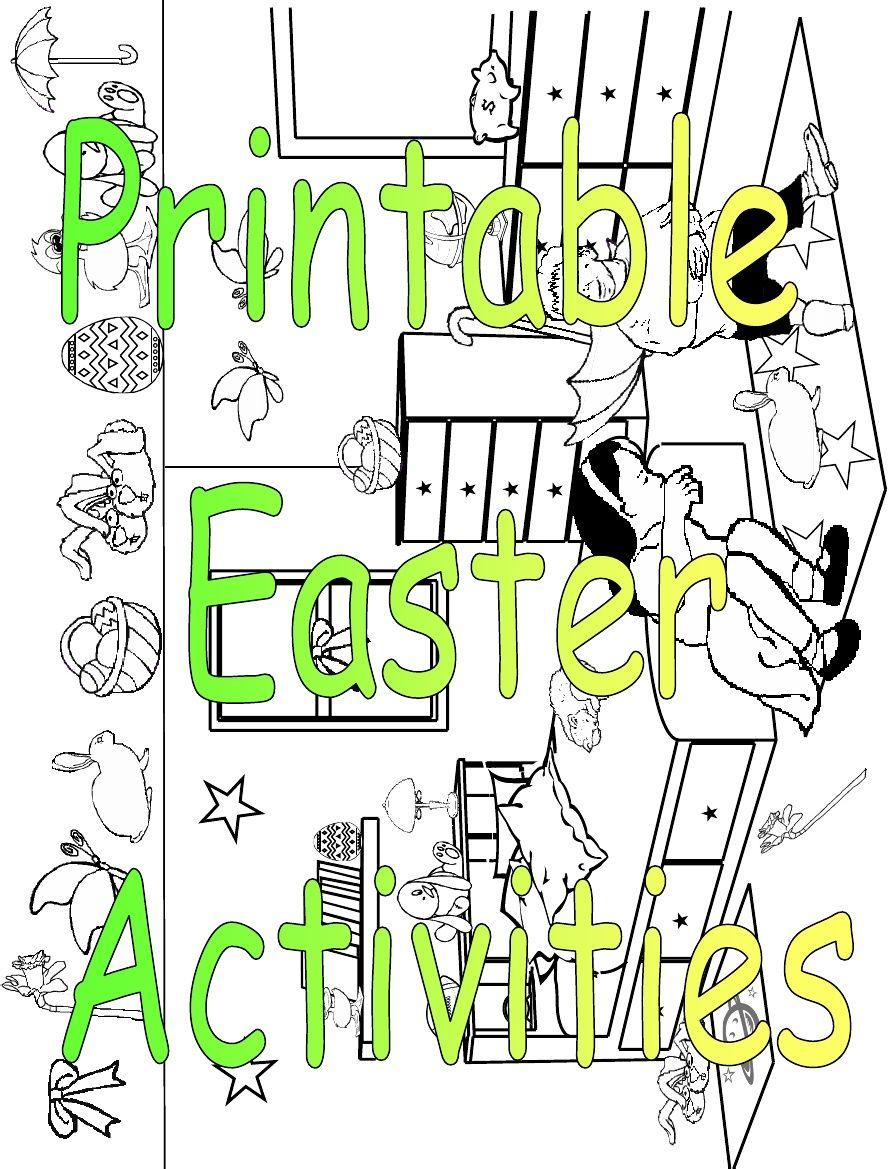 Printable Children\'s Easter Activities | Scribd | Fine motor ...