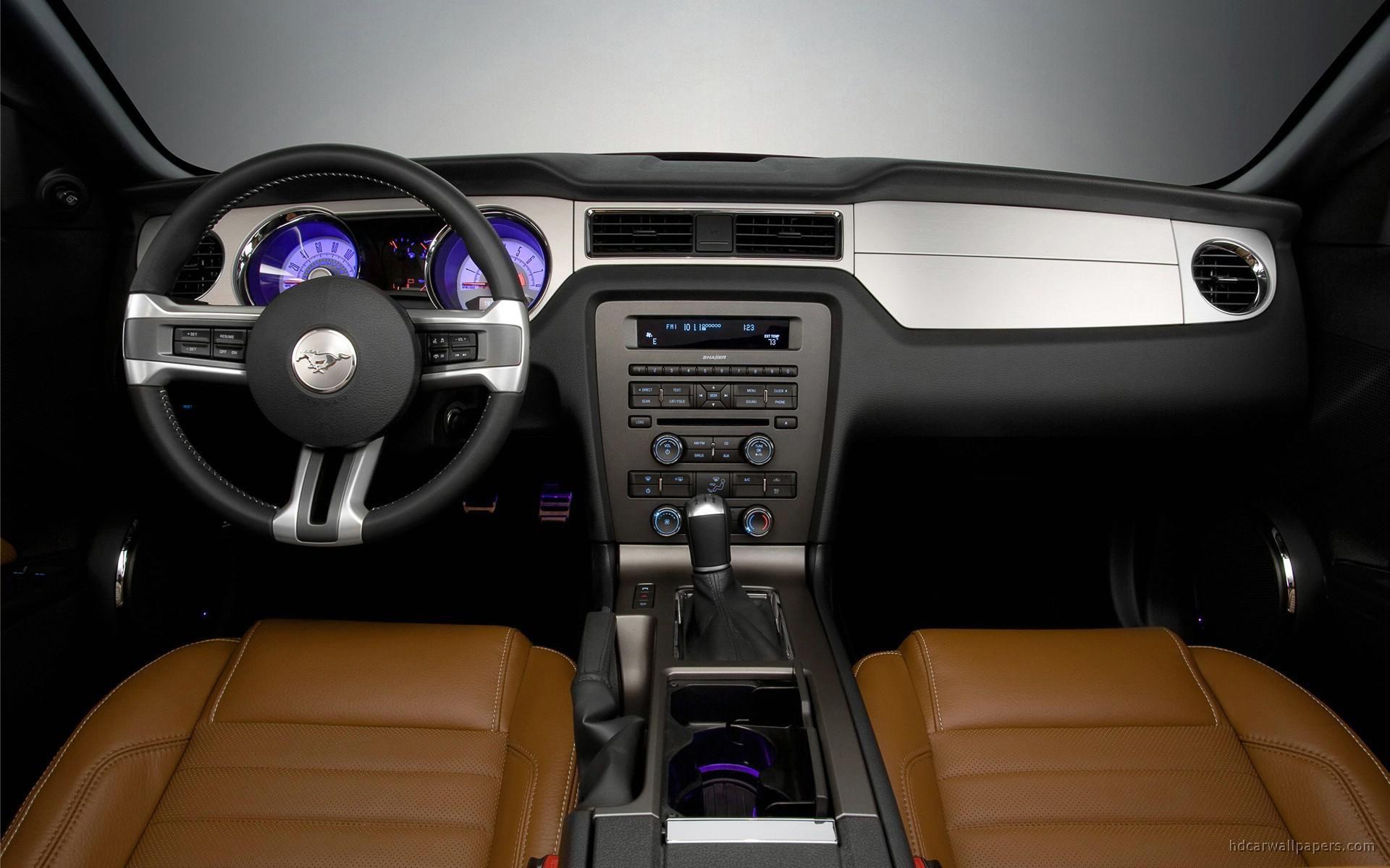 Ford Mustang 2010 Mustang Interior 2010 Mustang 2010 Ford Mustang