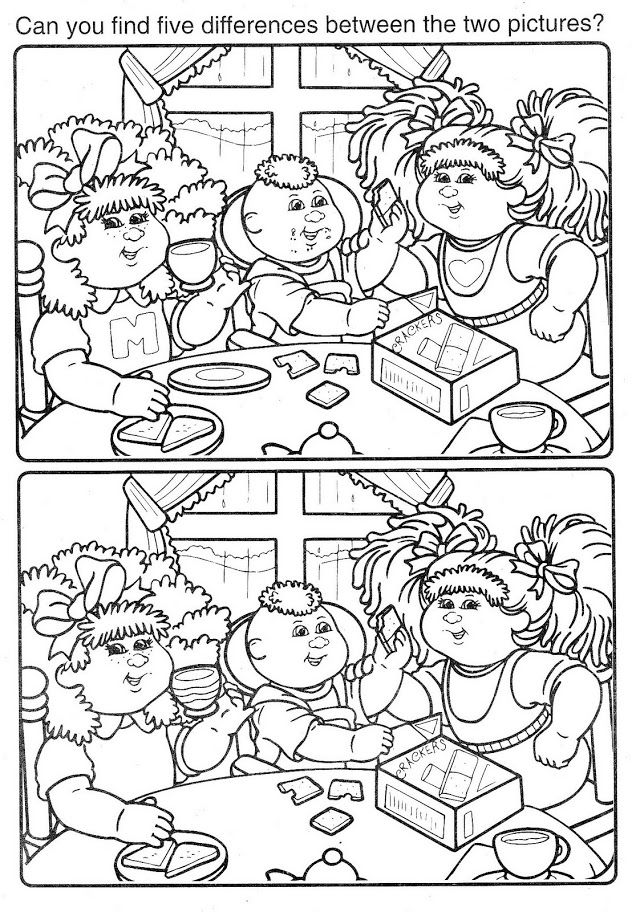 Coloring Book~Cabbage Patch Kids Yellow   Cabbage patch ...