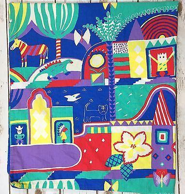 Vintage Ikea Toddler Bed/Crib Duvet Cover Colorful Cowboy Indian Shark Dino    eBay