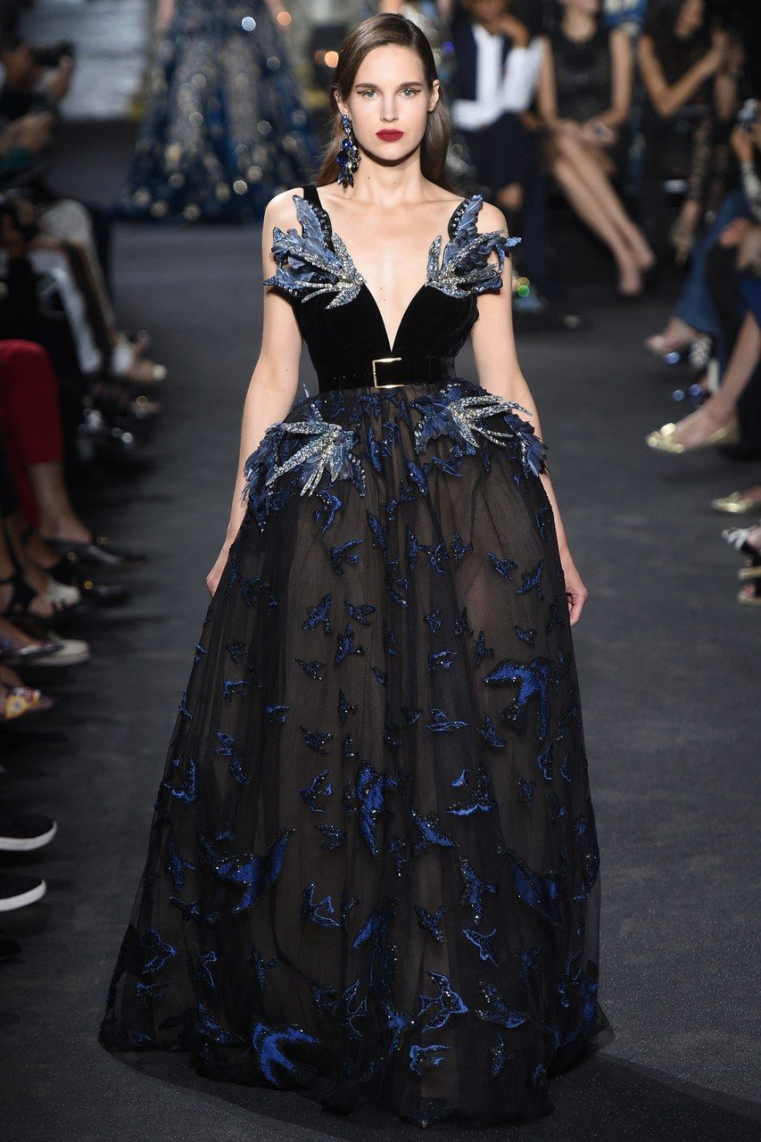 bb97dbe4904d Elie Saab Fall 2016 Couture Fashion Show in 2019