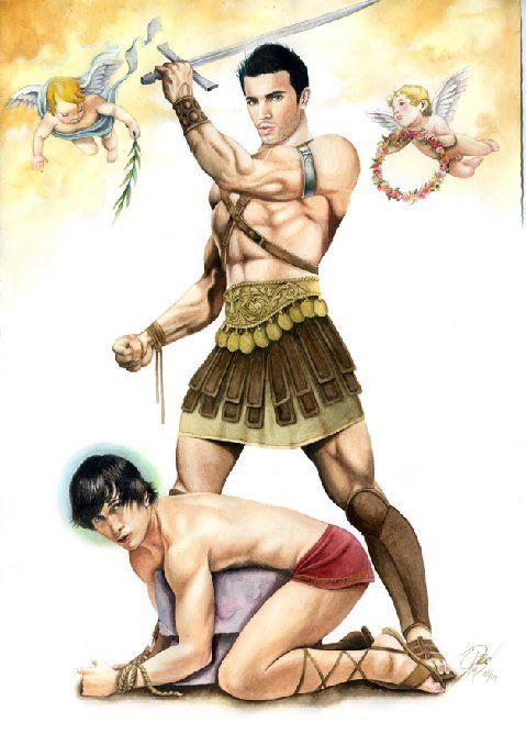Captured gay slave